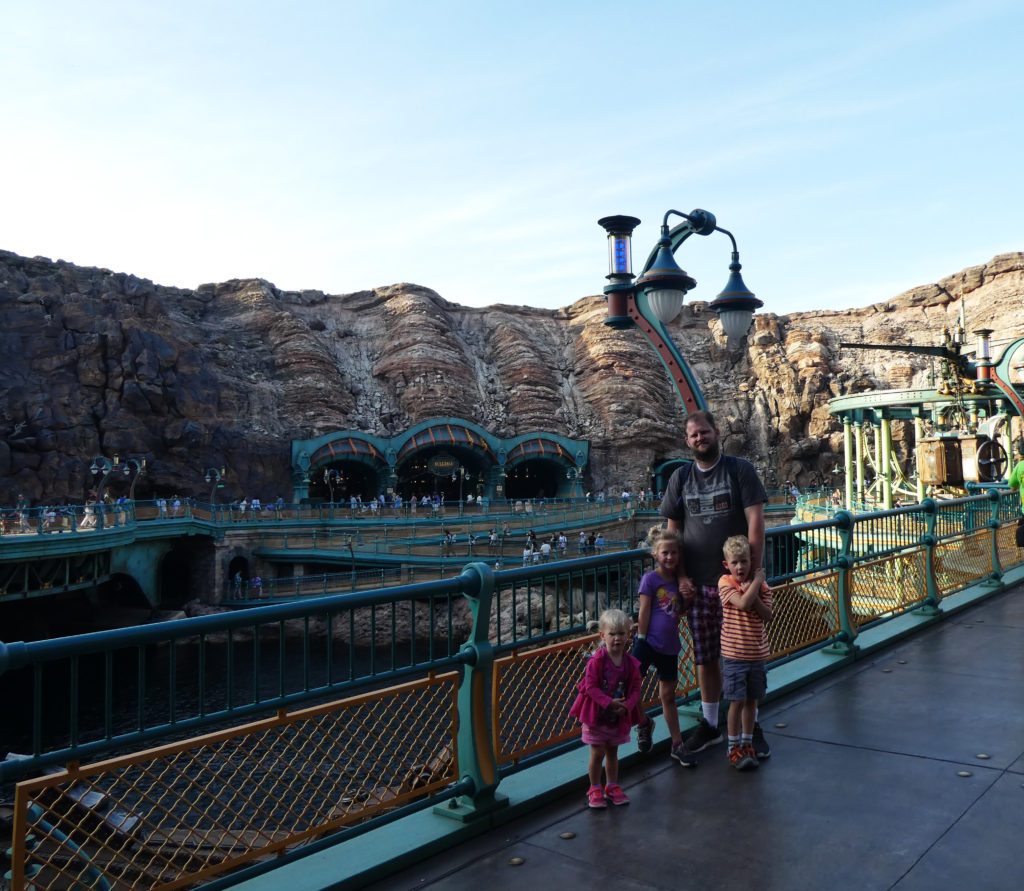 Tokyo Disneyland, Tokyo Disney Sea, traveling with kids, Family travel, Disney Themeparks, Mysterious Island, 20000 Leagues Under The Sea
