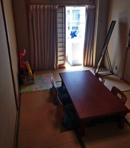 Hiroshima airbnb, world school, hiroshima, traveling with kids, family travel, diapersonaplane, diapers on a plane,