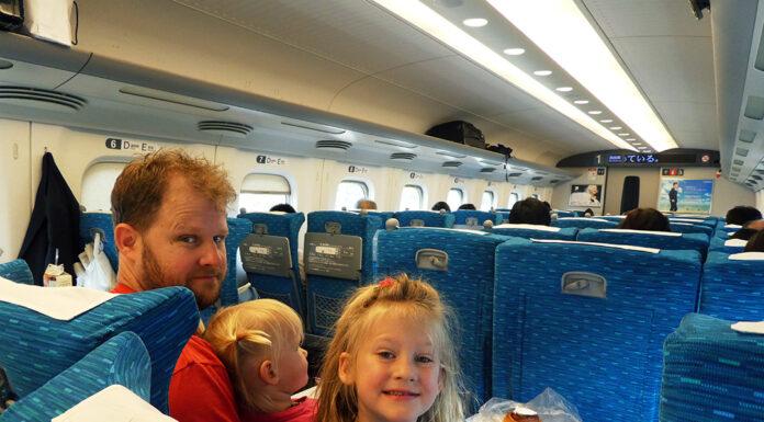 Bullet Train, JR, JR Rail Pass, Metro, Subway, Japan, Diapers on a plane, DiapersONAPLANE, traveling with kids, family travel, rush hour japan, Riding the Shinkansen, Nozomi,
