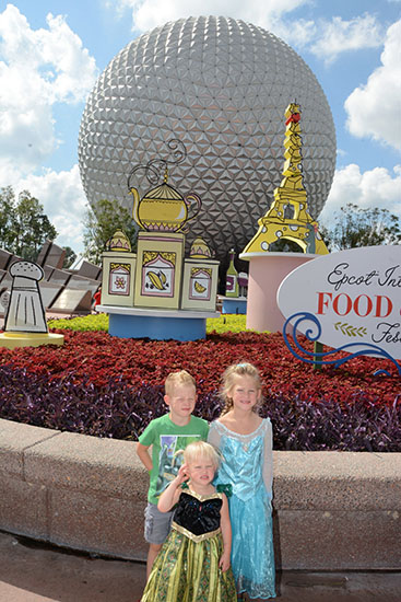 International Food and Wine Festival, Walt Disney World, Epcot, World Showcase, Snacks, Diapersonaplane, Diapers On A Plane, Creating family memories, family travel, traveling with kids