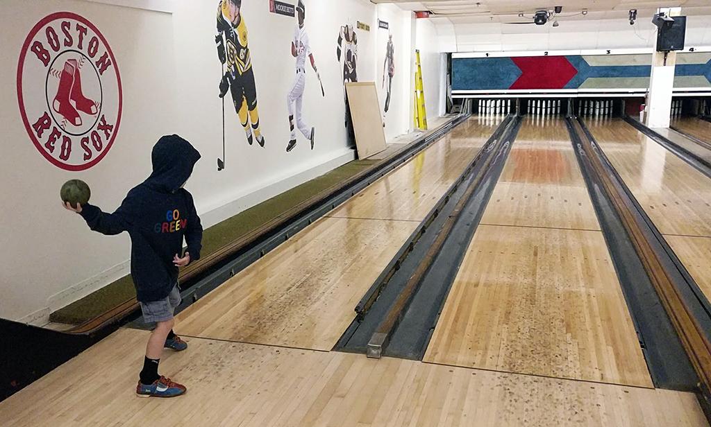 Candlepin Bowling As A Family: Boston's Maritime Original