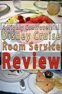 Disney Cruise Room Service