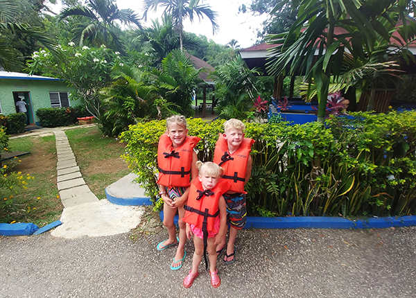 Rafting on the Martha Brae River, Rafting on the Martha Brae, River Rafting in Jamaica, Martha Brae, Jamaica, Falmouth, Yah Mon, Disney Cruise, Excursion, Caribbean, traveling with kids, family travel, creating family memories