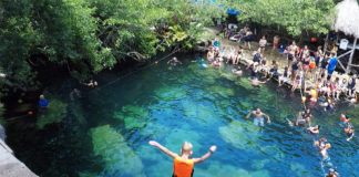 Cenote Cristalino, Mexico, Cenote, Riviera Maya, Yucatan Peninsula, Traveling with kids, family travel, creating family memories