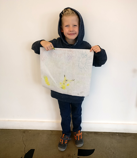 Clover Food Lab, Kids Drawings, Restaurants to eat at in Boston, Vegetarian Restaurants in Boston, traveling with kids, family travel, creating family memories