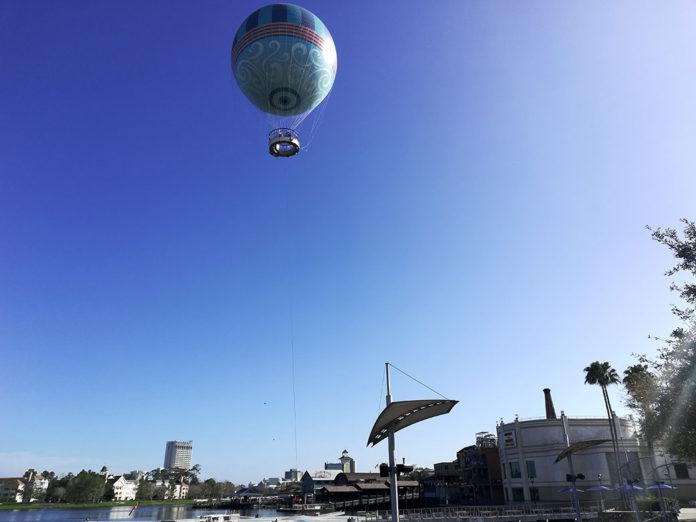 Aerophile Balloon Ride Disney Springs, Hot Air Balloon, Orlando, Florida, Groupon Aerophile, creating family memories, traveling with kids