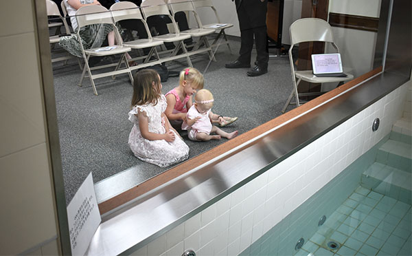 Peanut Gallery at the Baptism