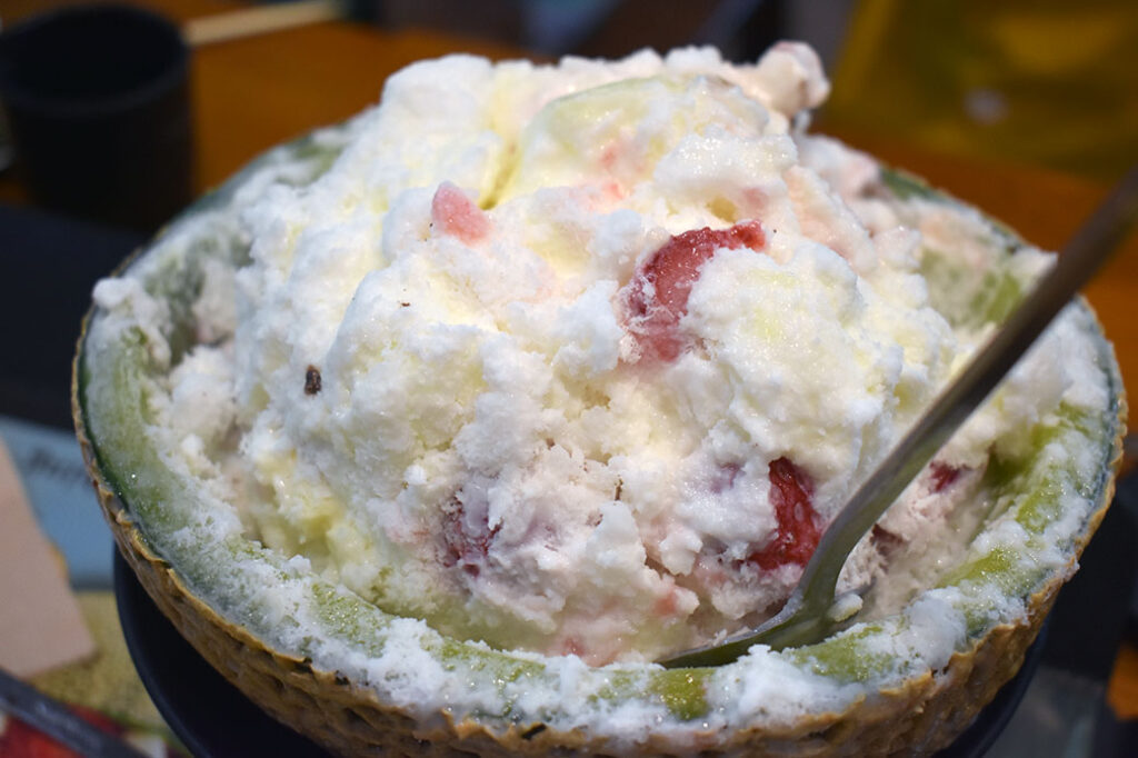 Bingsu Shaved Ice in Korea