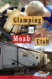 Everything you need to know about Glamping in Moab! From RV to Tipi to Yurts, this is your one size fits all guide!