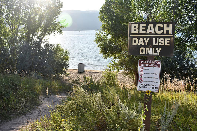 Beach Day Use at Anderson Cove Campground
