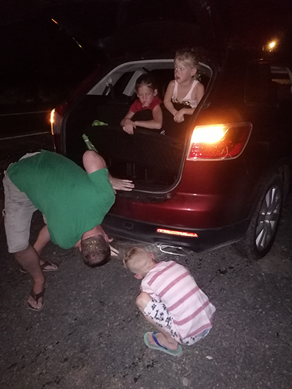 Flat Tire in Panama
